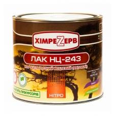 ЛАК НЦ-243 ХІМ МАТОВИЙ
