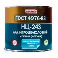ЛАК НЦ-243 МАТОВЫЙ МАЛЯР